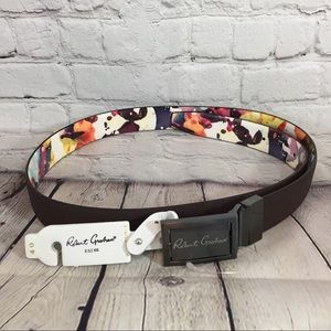 Robert Graham Men's Eclipse Reversible Belt